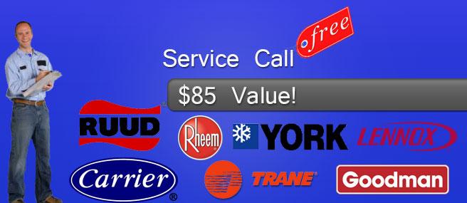 free service call fort lauderdale ac repair